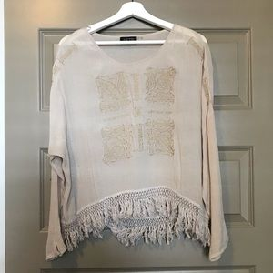 ASTR Embroidered Top
